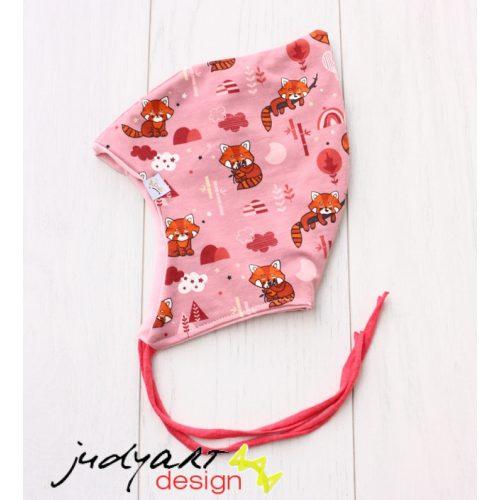 Tavaszi/őszi baba sapka - vöröspanda L