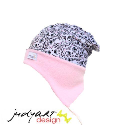 Judyartdesign téli bélelt füles fazonú sapka - dzsungel