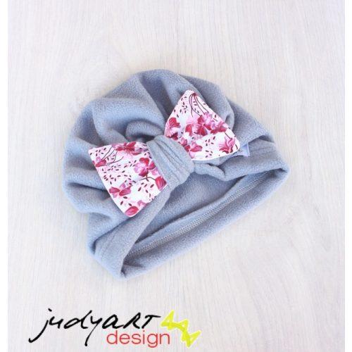 Téli meleg turbán sapka - floral