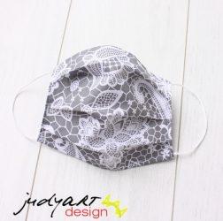 Judyartdesign FELNŐTT textil szájmaszk - csipke