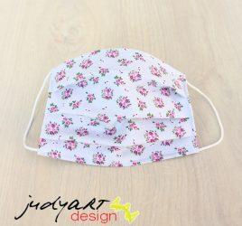 Judyartdesign FELNŐTT kétrétegű textil szájmaszk - fecske