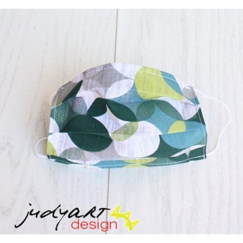 Judyartdesign FELNŐTT textil szájmaszk - fenyő