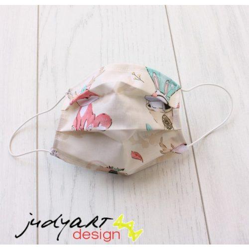 Judyartdesign GYEREK textil szájmaszk - friends