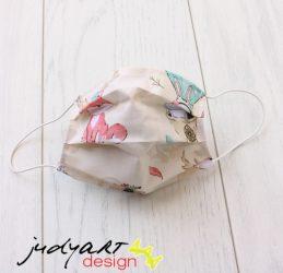 Judyartdesign FELNŐTT textil szájmaszk - friends