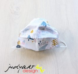 Judyartdesign GYEREK textil szájmaszk - Alaszka