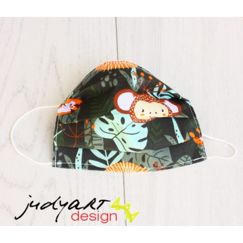 Judyartdesign FELNŐTT textil szájmaszk - jungle
