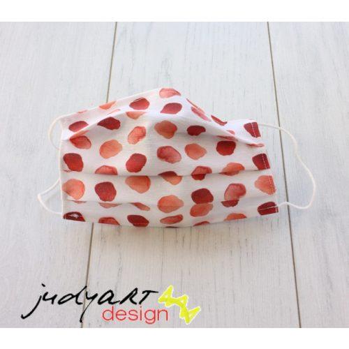 Judyartdesign FELNŐTT textil szájmaszk - szirom