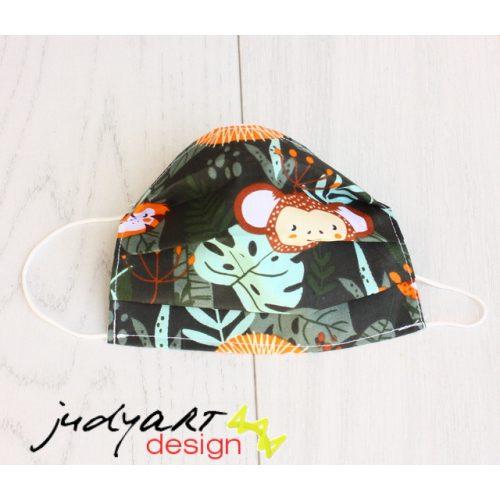 Judyartdesign GYEREK textil szájmaszk - jungle