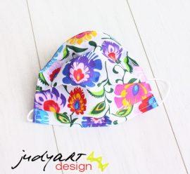 Judyartdesign FELNŐTT textil szájmaszk - magyar