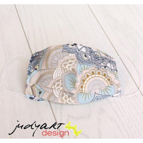Judyartdesign GYEREK textil szájmaszk - mandala