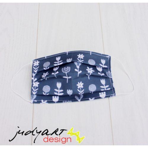 Judyartdesign FELNŐTT kétrétegű textil szájmaszk - népies