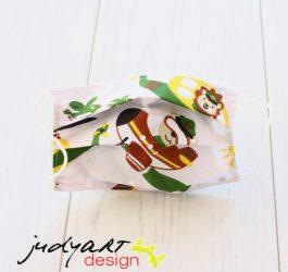 Judyartdesign GYEREK textil szájmaszk - repcsis