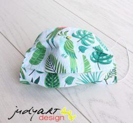 Judyartdesign GYEREK textil szájmaszk - trópus