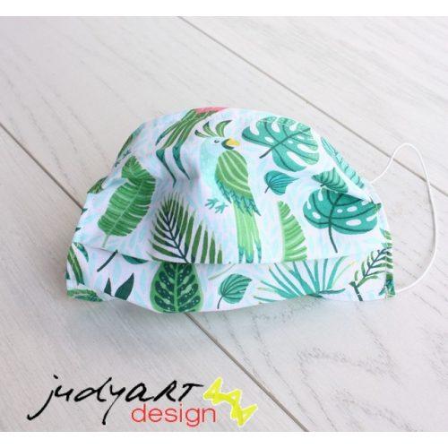 Judyartdesign FELNŐTT textil szájmaszk - trópus