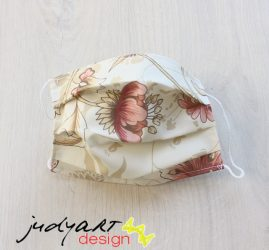 Judyartdesign FELNŐTT textil szájmaszk - vanília